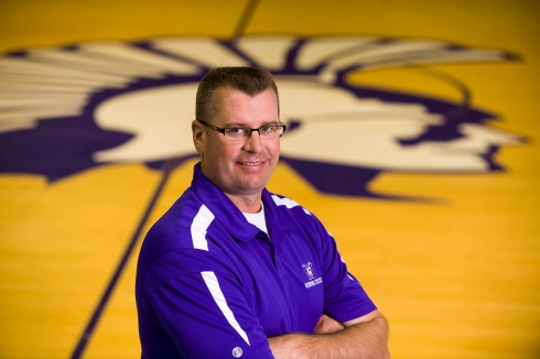 Eric Schoh excited to be Warriors' new athletic director