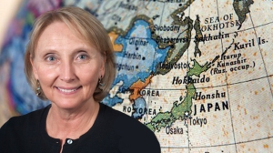 Forsythe will spend her Fulbright term on Okinawa, one of Ryukyu Islands about 400 miles south of Japan's mainland.
