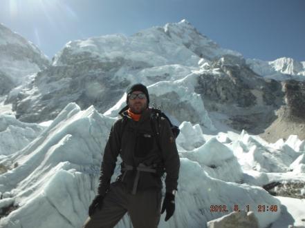 Kasak at Mount Everest