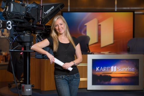 Gillian Key at Kare 11 Sunrise
